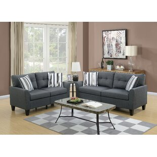 Shop For Filion 2 Piece Living Room Set by Ivy Bronx Reviews (2019) & Buyer's Guide