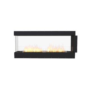 FLEX68 Peninsula Wall Mounted Bio-Ethanol Fireplace Insert by EcoSmart Fire