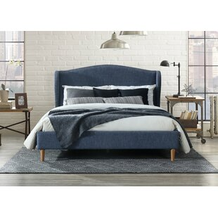 Monett Queen Upholstered Platform Bed