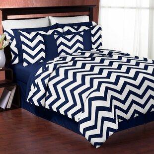 Sweet Jojo Designs Chervon 4 Piece Twin Comforter Set