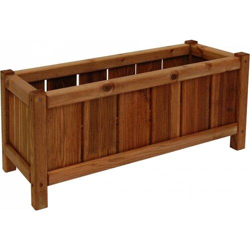 Trough Wooden Planter Box (Set of 3) Freeport Park