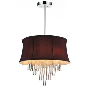 CWI Lighting Audrey 4-Light Chandelier