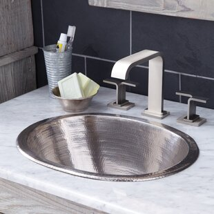Native Trails, Inc. Cameo Metal Oval Undermount Bathroom Sink