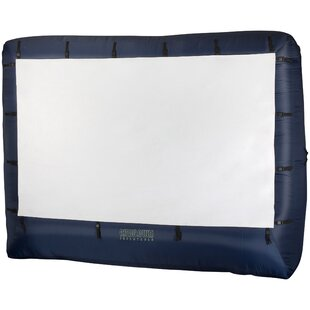 Gemmy Gray 76 x 1228 Portable Inflatable Projector Screen by Bloomsbury Market