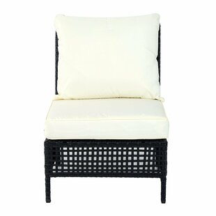 Rattan Middle Chair With Cushion By Sol 72 Outdoor