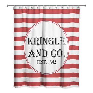 Affordable Graf Kringle and Co. Shower Curtain ByThe Holiday Aisle