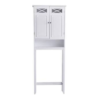 Ellsworth 26 1 W X 64 75 H X 8 1 D Free Standing Over The Toilet Storage Reviews Birch Lane
