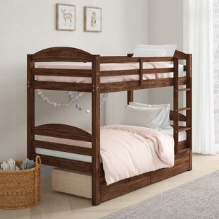 Ralph Twin Over Twin Bunk Bed With Drawers by Viv + Rae #1