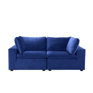 Nicholls Loveseat by Ebern Designs