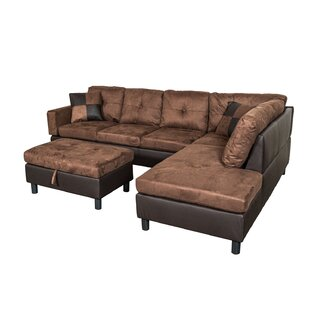 Charlton Home Richview Sectional with Ottoman
