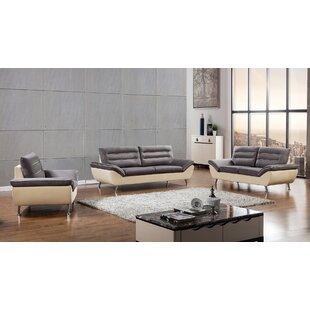 American Eagle International Trading Inc. Dorsey 3 Piece Living Room Set