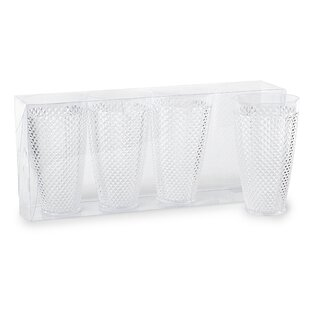 Bocana 25ml Plastic Drinking Glass (Set Of 4) By Lily Manor