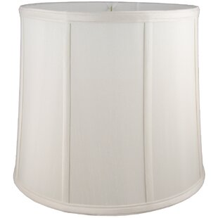 15 Faux Silk Drum Lamp Shade