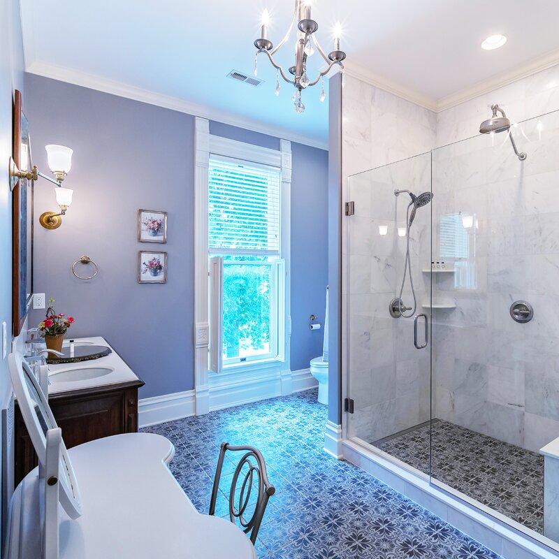 Elitetile Diego 8 X 8 Ceramic Patterned Wall Floor Tile Reviews Wayfair