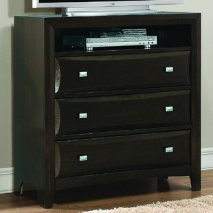 Ryerson 3 Drawer Media Chest