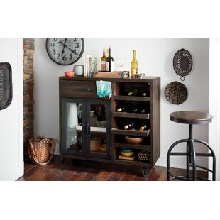 Evie Trolley Bar Cabinet