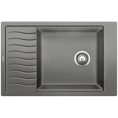 Blanco Precis 30.69 L x 19.69 W Medium Single Kitchen Bowl Sink with Drainer null: null