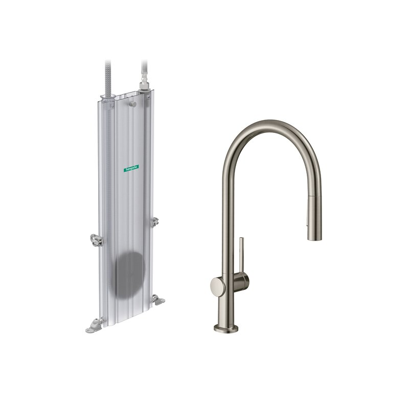 Hansgrohe Talis N Pull Down Single Handle Kitchen Faucet Wayfair