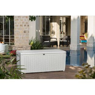 sumatra 135 gallon resin deck box - Patio Storage Box