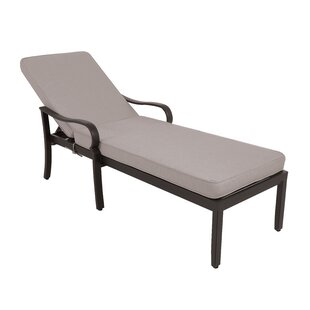Atmore Reclining Chaise Lounge with Cushion