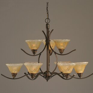 Demi 9-Light Shaded Chandelier by Red Barrel Studio