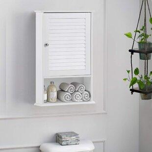 Amylyn 165 W x 275 H x 65 D Wall Mounted Bathroom Cabinet by Red Barrel Studio