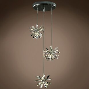 Alexa 12-Light Cluster Pendant by Everly Quinn
