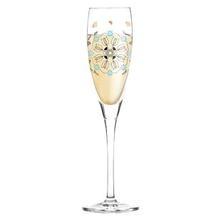 Pearls Edition 180ml Champagne Glass by Ritzenhoff