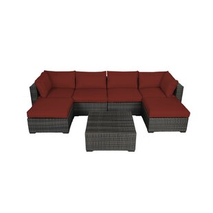 Barwick 7 Piece Sectional Set with Cushions