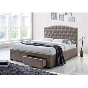 Price comparison Banford Queen Upholstered Storage Platform Bed by Canora Grey Reviews (2019) & Buyer's Guide