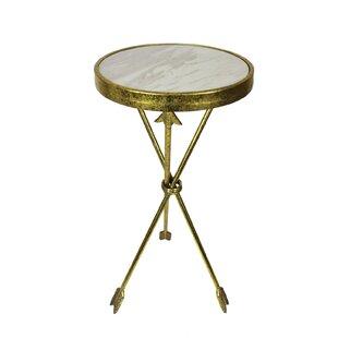 Gold Arrow Accent Table Wayfair Ca