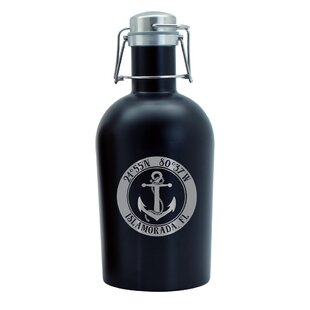 Beer 64 Oz. Growler by Island Girl Home Today Sale Only