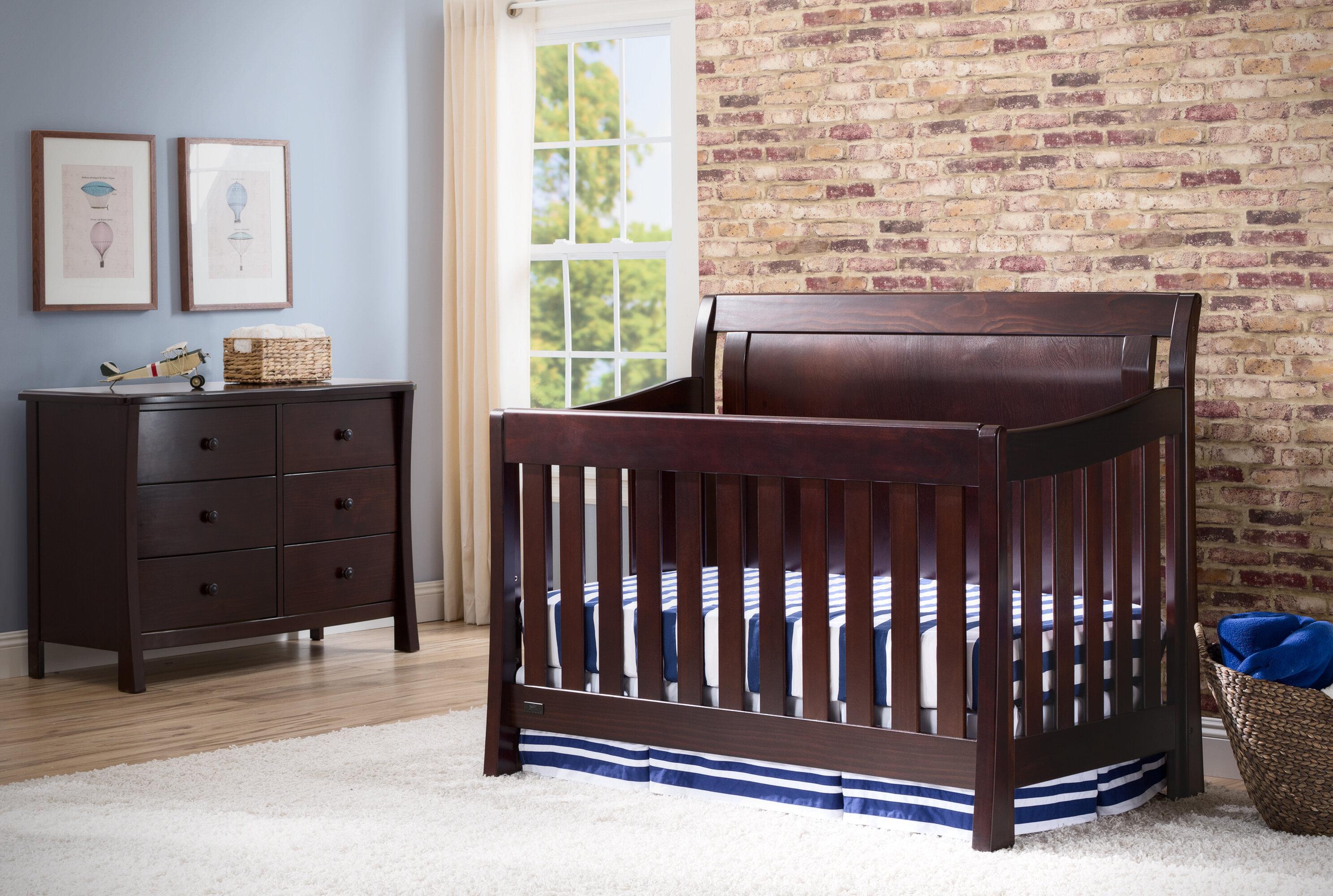- Simmons Kids Slumber Time 4-in-1 Convertible Crib & Reviews Wayfair