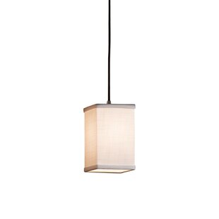 Latitude Run Red Hook 1 Light Square/Rectangle Pendant