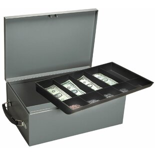 Buddy Products Jumbo Cash and Security Box