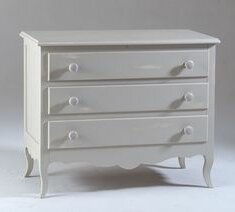 Comstock 3 Drawer Chest Of Drawers By Fleur De Lis Living