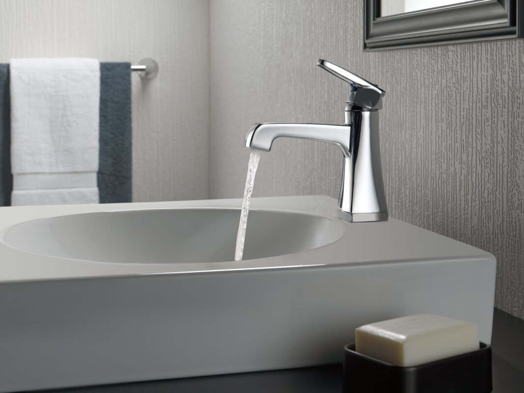 faucet and assembly drain technology diamond single seal hole with ashlyn home pdx improvement delta bathroom