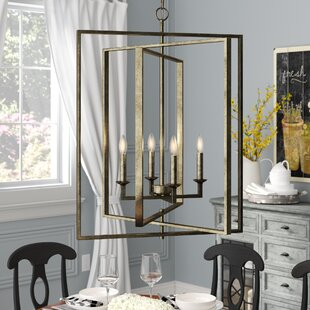Maisie 4-Light Lantern Chandelier by Grac..