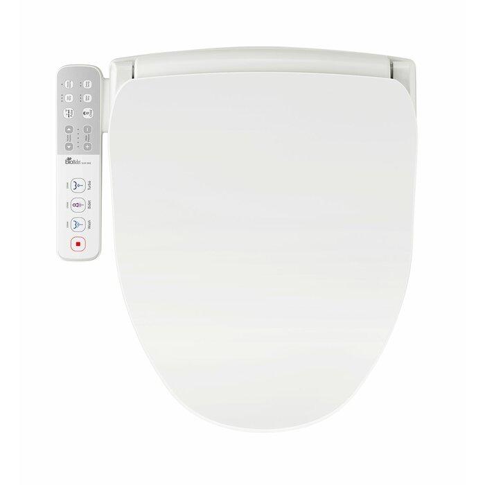 Terrific Slim One Round Toilet Seat Bidet Machost Co Dining Chair Design Ideas Machostcouk