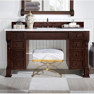 Bedrock 60 Makeup Table Vanity by Darby Home Co