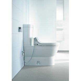Reviews Darling New HET 1.28 GPF Elongated One-Piece Toilet (Seat Not Included) ByDuravit