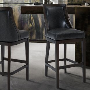 Zimmer 30.5 Swivel Bar Stool Loon Peak