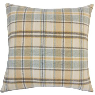 Adrian Plaid Floor Pillow