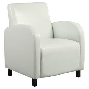 Leather Look Armchair by Monarch Specialties Inc.