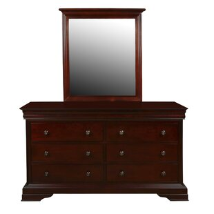 Scarbrough 6 Drawer Double Dresser by Harriet Bee