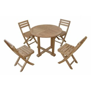 Montage Alabama 5 Piece Teak Dining Set