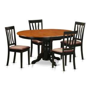Darby Home Co Attamore 5 Piece Dining Set