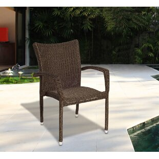 Rosecliff Heights Bridgepointe Stacking Patio Dining Chair (Set of 4)