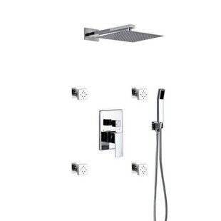 Top Reviews Cahoon Rain Shower Head Complete Shower System By Rebrilliant