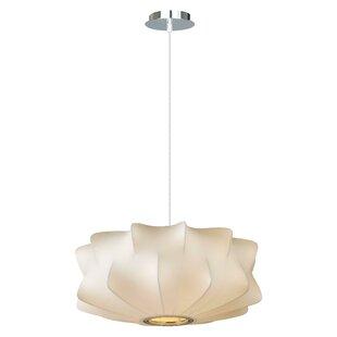 Flara 2-Light Geometric Chandelier by Zipcode Design